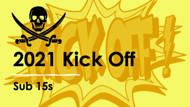 22 JAN: 2021 Kick Off – Sub15 Group